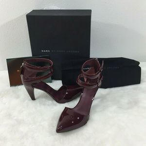 Marc by Marc Jacobs Reese Shark Tooth High Heels